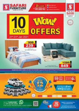 Safari Furniture offer