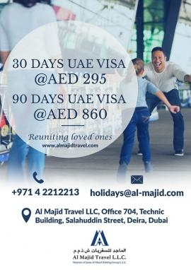 Al Majid Travel & Tourism offer