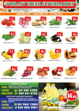 Vibrant Fresh Supermarket offer