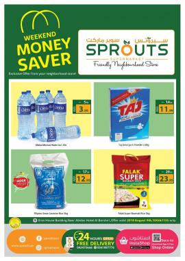 Sprouts offer