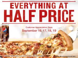 Papa John's Pizza offer