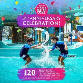 Laguna Waterpark offer