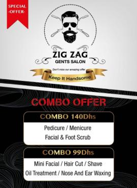 Zig Zag Gents Salon offer