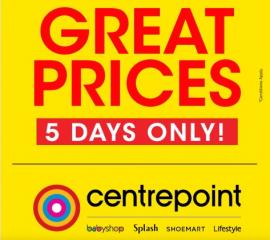 Centrepoint offer