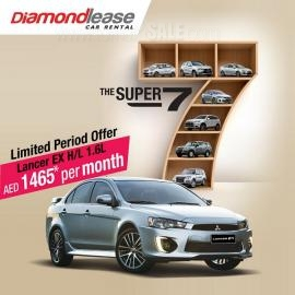 Diamondlease Car Rental offer