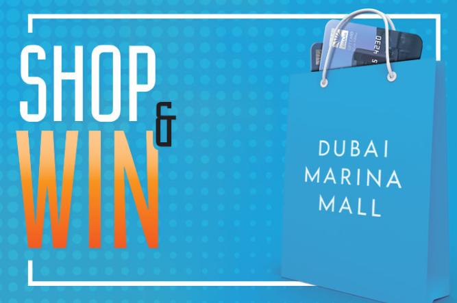 This DSF Spend AED 250 at Dubai Marina Mall and get the chance to win an Emaar Gift Card worth AED 25,000 weekly.