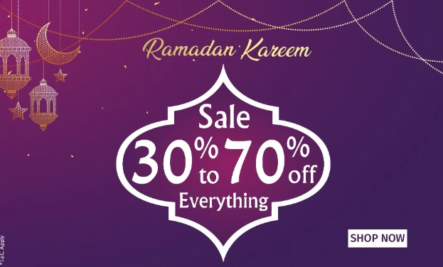 Sale 30% to 70% Off everything @ PAN Emirates