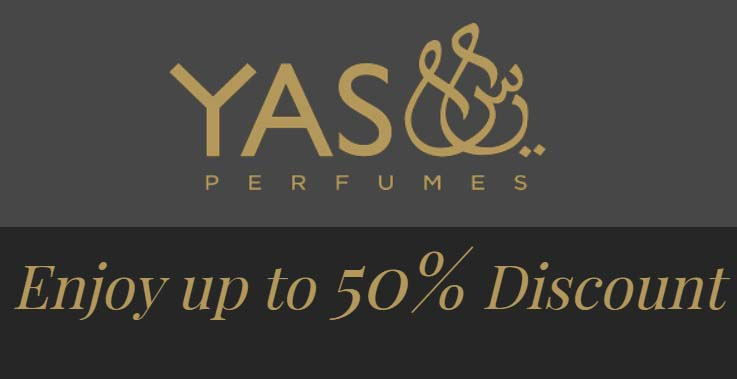 Enjoy up to 50% Discount @ Yas Perfumes