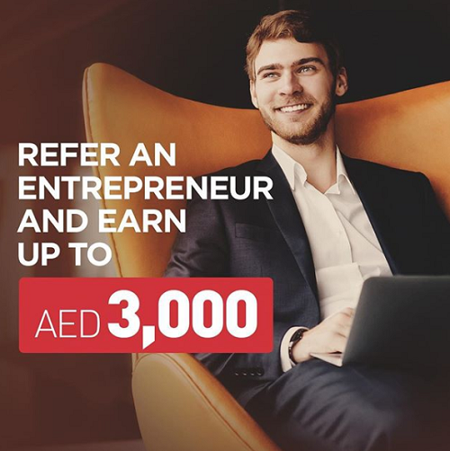 Virtuzone - Refer an entrepreneur and earn up to AED 3,000