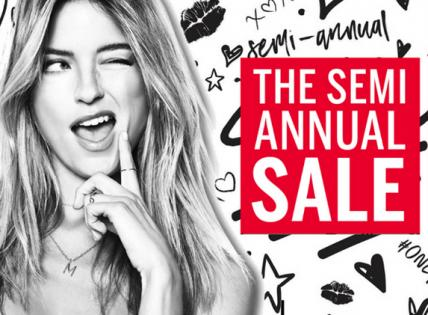 Sale On Sale! Now 50% to 75% OFF on over 1,200 styles. Save on bras, panties, sport, sleep, beauty and more. Shop now at Victoria's Secret before it's gone!