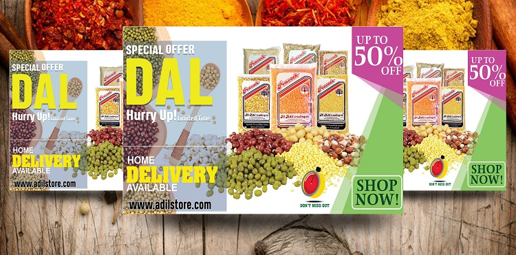 Al Adil Trading - Dal Special Offer. Up to 50% off.