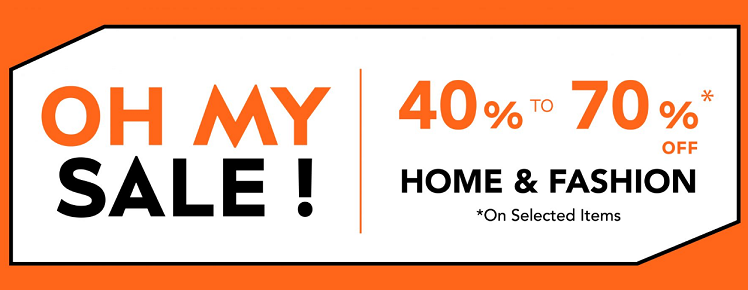 Le BHV Marais - Oh My Sale! 40% to 70% Off on selected items from Fashion & Home.