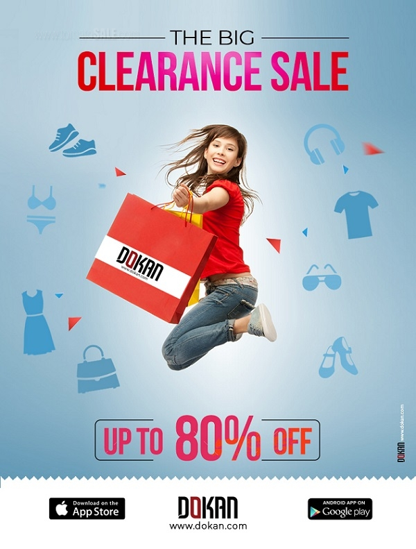 Dokan.com - The Big Clearance Sale. Up to 80% Off.