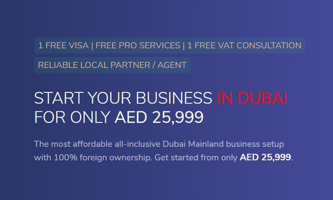 With Shuraa Business Setup - Start a Professional Company in Dubai at AED 25,999 AED and a Limited Liability Company at AED 29,999 AED ( All Inclusive). Call us on +97144081900 / WhatsApp on +971507775554. You can also email us on info@shuraa.com or log on to https://www.shuraa.com