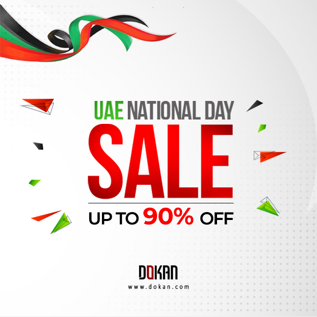 Dokan.com - UAE National Day Sale. Up to 90% OFF.