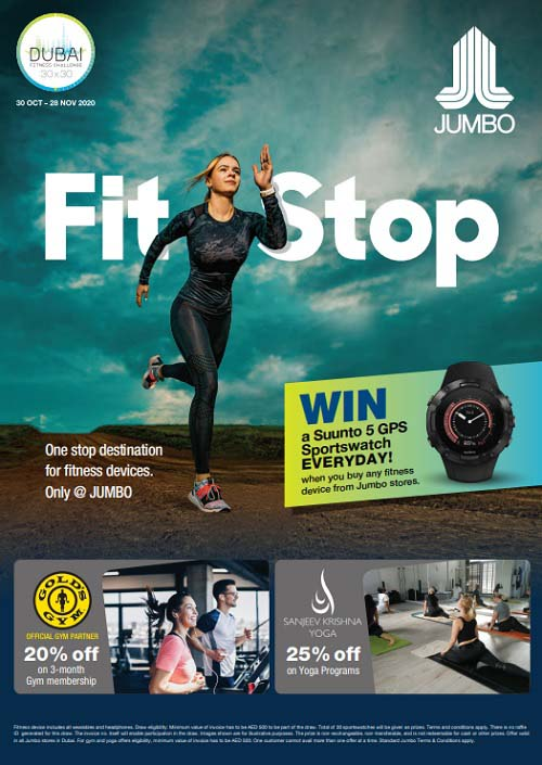 One Stop destination for Fitness devices only @ Jumbo