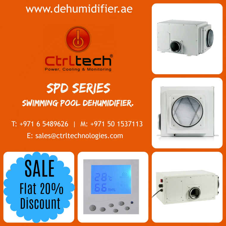 CtrlTech - Flat 20% off on swimming pool dehumidifier, dehumidifier for swimming pool for humidity control