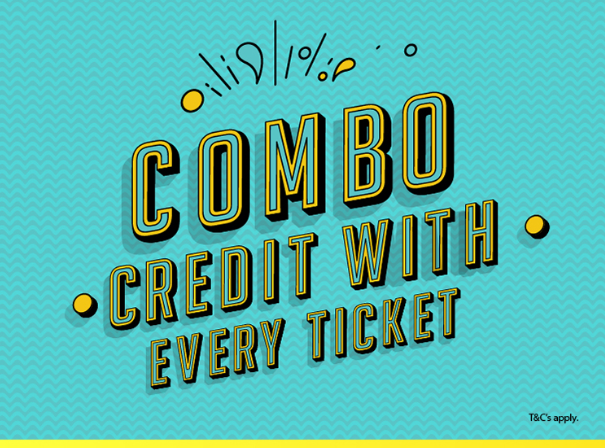 Novo Cinemas - With every movie ticket you purchase we give you a voucher to spend at the concession. Voucher worth AED 5.25 can be redeemed only on select combos. T&C apply.