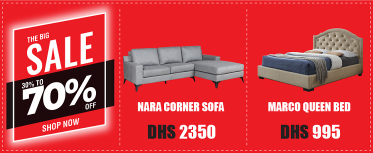 United Furniture - The Big Sale. 30% to 70% Off on Home Furniture & Accessories.