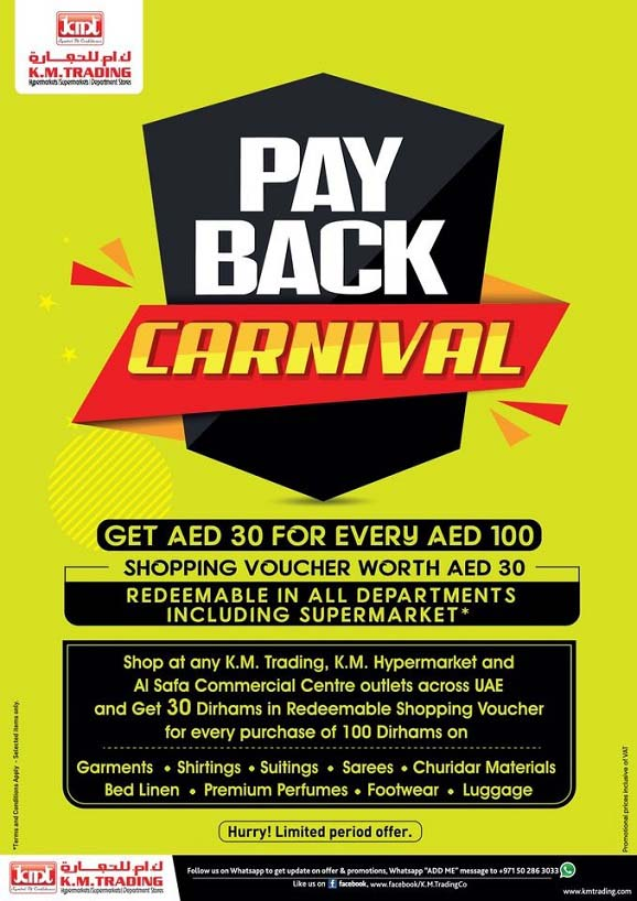 PAY BACK CARNIVAL 2020 @ K.M. TRADING