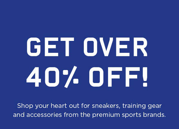 Online Exclusive. Get over 40% Off on your shopping @ Sun & Sand Sports