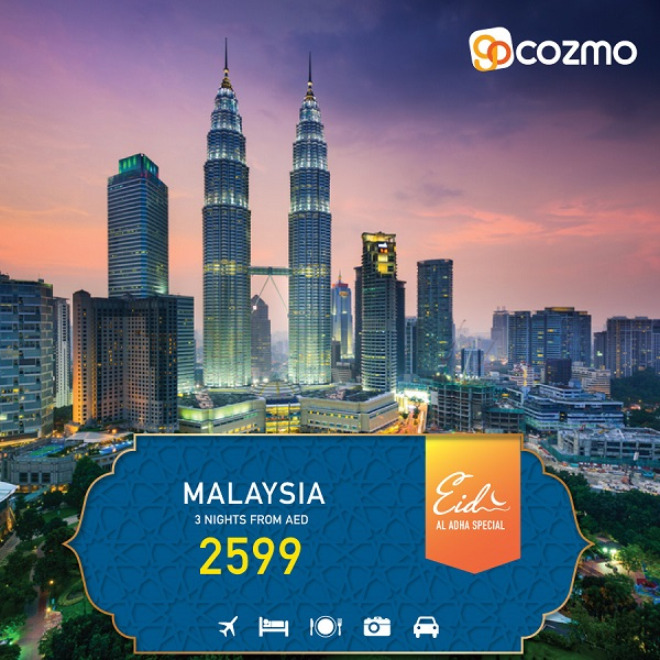 Plan your Eid Al Adha holiday to Malaysia with All-inclusive Packages from AED 2599.
