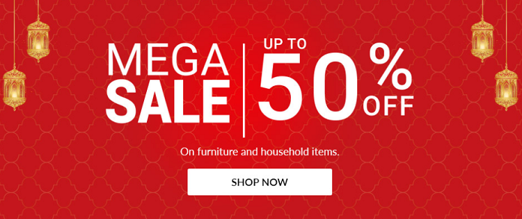 Home Box - Mega Sale. Up to 50% Off on furniture and household items.
