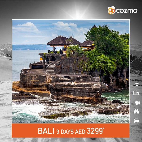 Gocozmo special Package to this winter to Bali, price starting from AED 3299*.