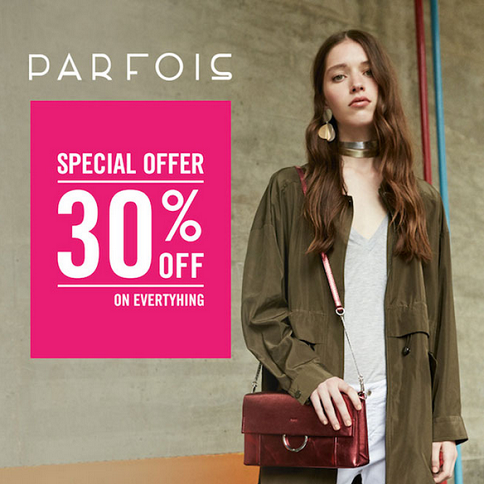 PARFOIS - Special Offer. 30% off everything.