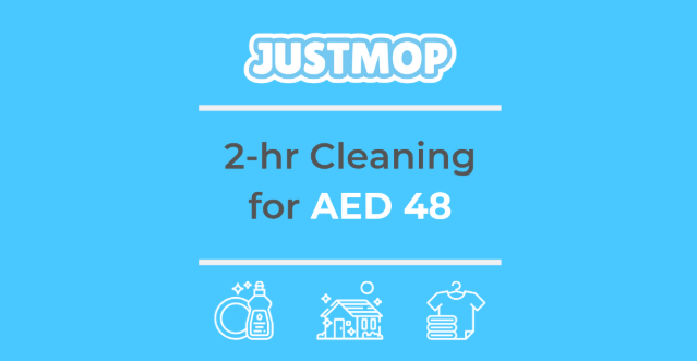 Justmop.com - 2 hour Cleaning for AED 48