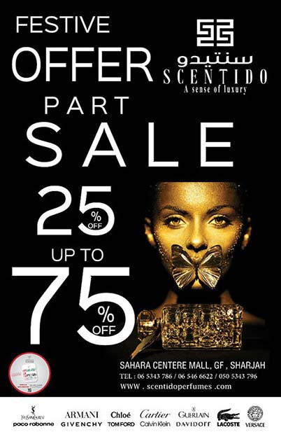 Festival offer Part Sale at Scentido Perfumes