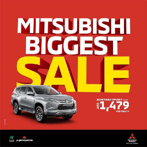 Everyone is a winner with Mitsubishi Biggest Sale! Pick your deal: 2 Years Zero Interest, 2 Years Insurance or Cash Back! To know more, Visit Mitsubishi showrooms. *T&C Apply.