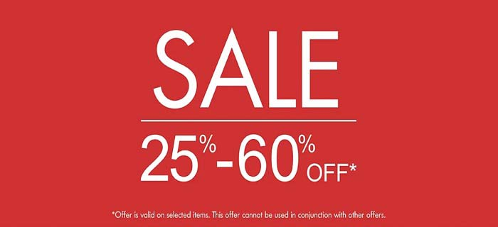 SALE 25% - 60% Off @ Kiabi. Offer is valid on selected Items. T&C Apply