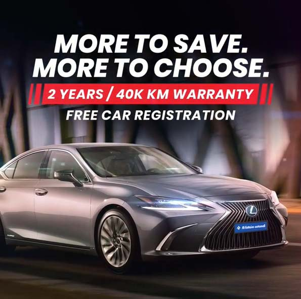 This October, enjoy additional 1 year warranty, free registration, trade-in offer and much more @ Al-Futtaim Automall