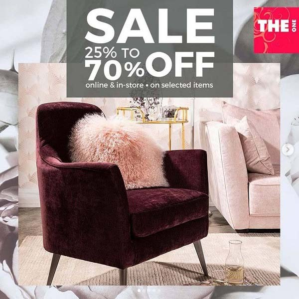 Shop Big on home furniture and accessories with THE One Winter Sale and save Up To 70% on selected items. Offer valid in-store and online