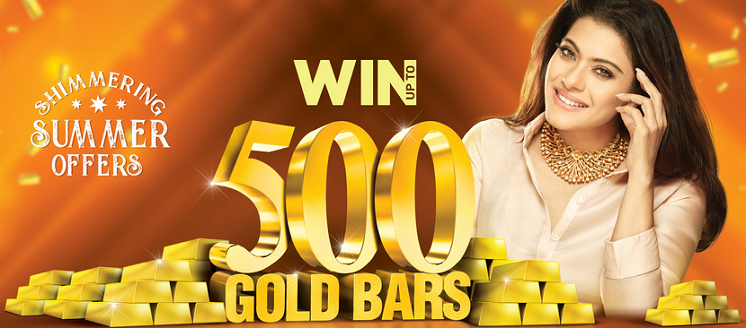 Joyalukkas UAE - Win up to 500 Gold Bars. Buy gold jewellery worth AED 500 and get 1 raffle coupon or buy diamond jewellery worth AED 500 to get 2 raffle coupons.  0% Deduction on gold exchange. Enjoy low making charges. Easy payment plans. Special diamond jewellery collection.  Offer valid till 4th August, 2018. *Conditions apply.
