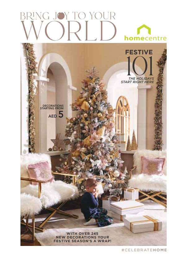 Festive Catalogue 2020 @ Home Centre