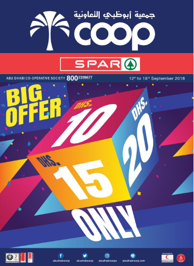 SPAR - Big Offer. From 12th to 18th September 2018.