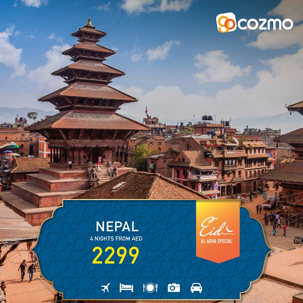 Explore Nepal this Eid Al Adha with All-inclusive Packages from AED 2299.