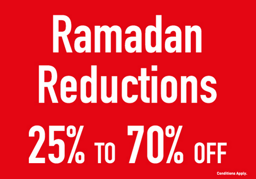 Ramadan Reductions at Babyshop. Enjoy up to 70% OFF on selected items. Valid in:     Sharjah, Dhaid, Khorfakkan & UAQ stores. Expires on: 18 Jun 2018