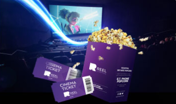 Get your Dolby Cinema Ticket for AED 50 along with a FREE Popcorn. *Limited Time Offer valid only at Reel Cinemas, Al Ghurair Centre. T&C apply.