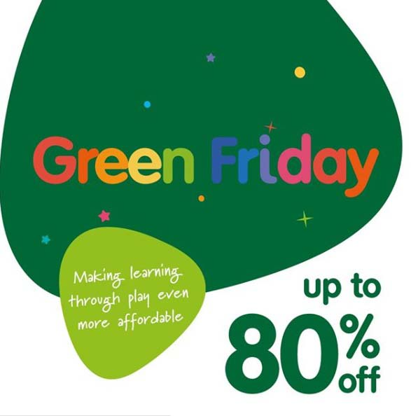Up to 80% off GREEN FRIDAY Deals and more!  Check out now! www.elctoys.com