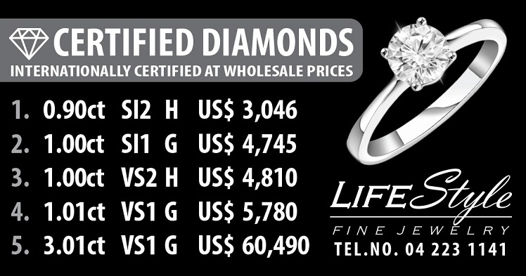 Lifestyle Fine Jewelry - Certified Diamonds. Internationally certified at wholesale prices.