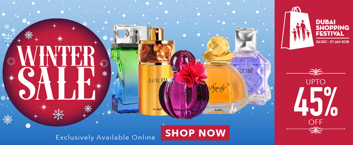 Ajmal Perfume - WINTER SALE. Up to 45% Off. Exclusively Available Online