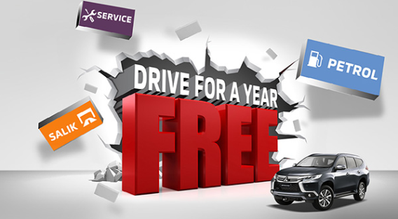 Drive for a year free.