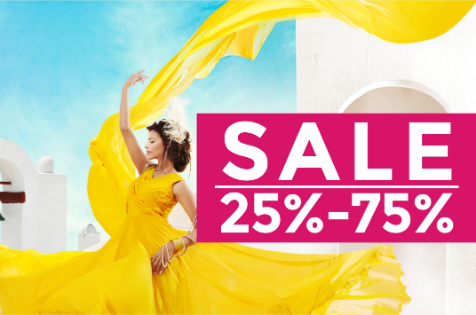 Regal Fabrics - The DSF Sale is here! Don't miss up to 75% off on exquisite fabrics, and the best deals in custom tailoring at select Dubai stores from 26th December 2018 to 2nd February 2019.