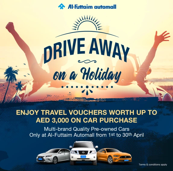 The Automall Drive Away Offer. It's time to take off on your next international holiday or simply head back home during the summer break.