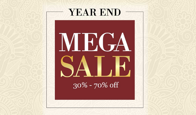 United Furniture YEAR END MEGA SALE. 30% to 70% off on Home Furniture & Accessories.