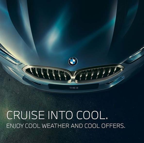 As the weather is cooling down, the offers are heating up with our exciting new deals. Drive away in the BMW of your choice and benefit from: . Up to 20% down payment . Trade-in support up to AED 20,000 . Free insurance and registration . BMW Service Inclusive Package for 5 years/100,000km (whichever comes first) . BMW Repair Inclusive Package for 5 years/200,000km