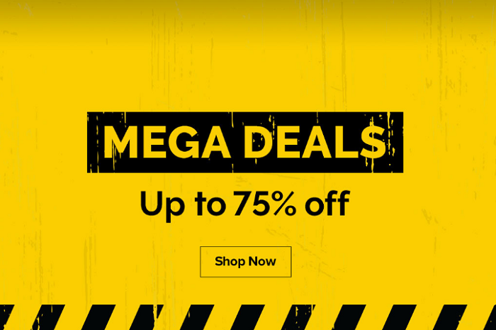 Enjoy MEGA DEALS up to 75% off on Tech, Lifestyle, Stationery, Books, Video & Music available across all Virgin Megastore in Dubai & online